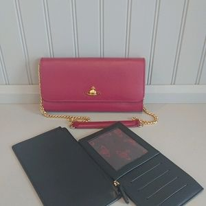 Vivienne Westwood chained bag with inserts